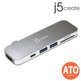 J5 CREATE JCD386 USB Type-C 7-in-1 Ultra Drive Dock
