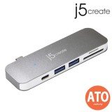 J5 CREATE JCD388 USB Type-C 6-in-1