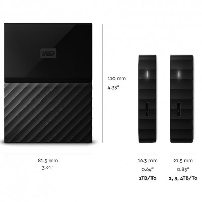 "WD My Passport Ultra 2.5"" USB3.0 2TB"