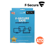 F-Secure Safe Internet Security (3 Devices / 1 Year)