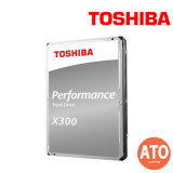**Back to Back Order** TOSHIBA X300 HDD 3.5-INCH (7200/128MB) 6TB SATA FOR DESKTOP (2 YEARS WARRANTY)