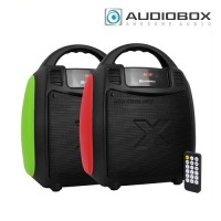 Audiobox Boombox BBX 300 Portable Speaker (Red|Green)