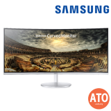 SAMSUNG ZOOM IN 34-INCH Curved Widescreen Monitor CF791 with Quantum Dot Display