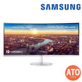 SAMSUNG 34-INCH Thunderbolt™ 3 Curved Monitor CJ791 with 21:9 Wide Screen