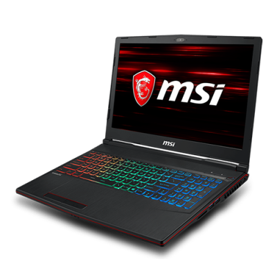 "MSI GP63 8RE 820MY LEOPARD (GTX1060 6GB GDDR5) 15.6"" FHD (1920*1080), 120Hz wideview 94%NTSC color Anti-Glare 3ms GAMING NOTEBOOK"