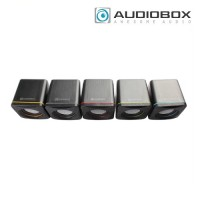 Audiobox U-Cube USB Powered 2.0 Speakers (Blue| Green| Grey| Red | Yellow)