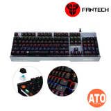 Fantech Mechanical Gaming Keyboard MK881 with Macro Keys, 104 Keys, Water Proof & Dust Proof