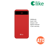Olike OPB08 20000mAh Power Bank (Qualcomm Fasy Charge 3.0) RED | BLACK