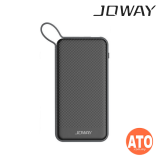 Joway 6000mAh Power Bank with Lightning Cable (Black | White)