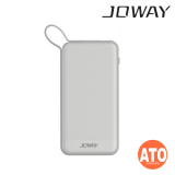 Joway 6000mAh Power Bank with Micro USB Cable (White)