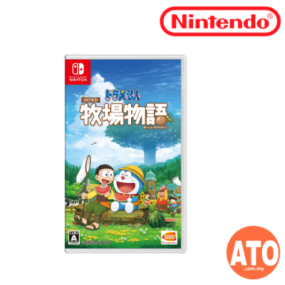 **RESTOCK**END OF AUGUST**Doraemon Nobita Nobi Story of Seasons 哆啦 A 夢 牧場物語 for Nintendo Switch (Asia) 中文版