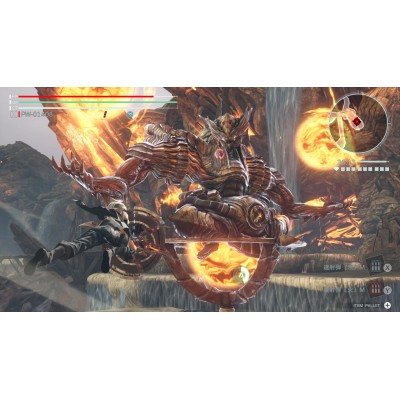 GOD EATER 3 噬神者3 for Nintendo Switch (ASIA) ENG/CHI/JPN - Chinese Cover