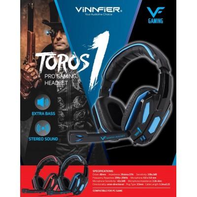Vinnfier Toros 1 Wired Gaming Headset