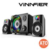 Vinnfier Ecco 3 BTR 2.1 Speaker (Bluetooth/ USB/ microSD/ AUX/ FM Radio)