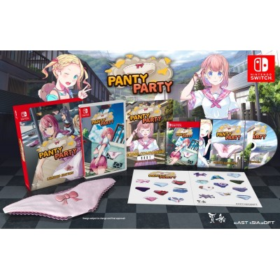 Panty Party 胖次派對 Limited Edition for Nintendo Switch (ASIA-CHI/ENG/JPN/KOR)