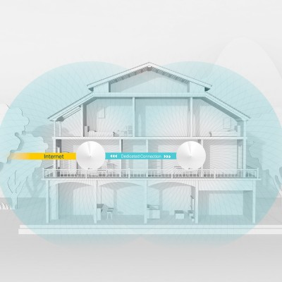 TP-Link Deco M9 Plus AC2200 Smart Home Mesh 2-Pack Wi-Fi