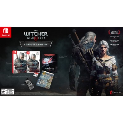 The Witcher 3 Wild Hunt Complete Edition for Nintendo Switch (EU-ENG)
