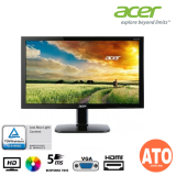 "Acer 21.5"" KA220HQ LED Flat LCD Monitor (5MS / HDMI / VGA / TN / HD / 60Hz)"