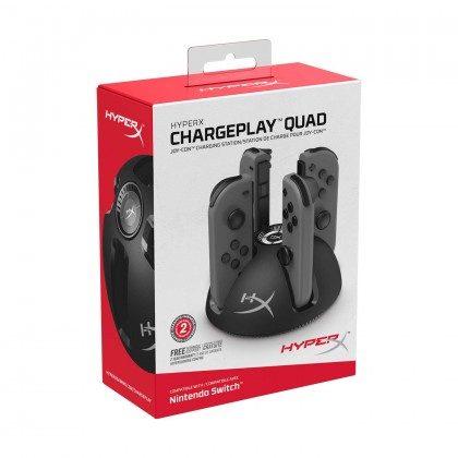 HyperX Chargeplay Quad Nintendo Switch
