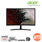 "Acer 25"" ED242QR Gaming Curved Monitor (1920x1080 / AMD Free-Sync / 4Ms / 144Hz / HDMI / DVI / DP)"