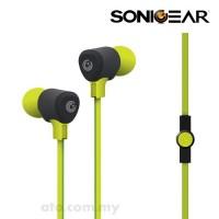 SonicGear Airplug 200 Neo Earphone (Green | Cyan | Red | Magenta | Orange)
