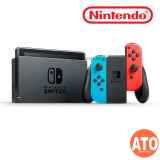 Nintendo Switch Console (Maxsoft Warranty) New Model with Battery Enhanced