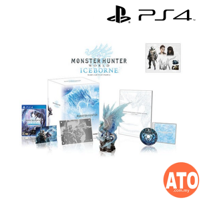 Monster Hunter Iceborne Master Collector Edition for PS4