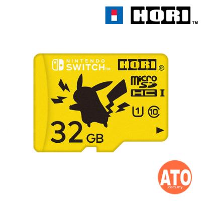 HORI Pokemon Micro SD Card for Nintendo Switch 32GB (PIKACHU)