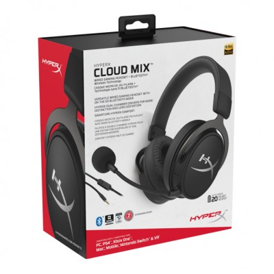 HyperX Cloud Mix Wired & Bluetooth Gaming Headset *FREE Hard Pouch**