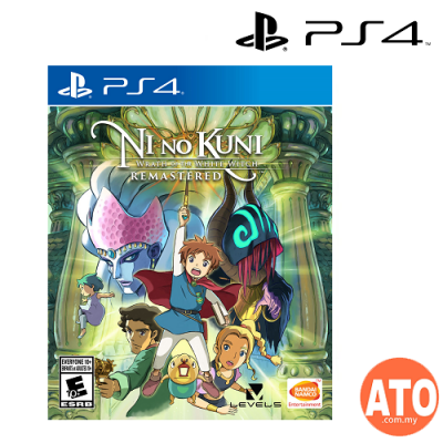 Ni No Kuni : Wrath of the White Witch Remastered for PS4 (R3) ENG