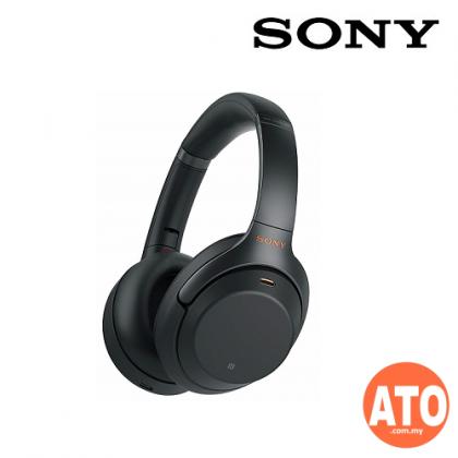 SONY WH-1000XM3 Wireless Noise Cancelling Headphones - Black