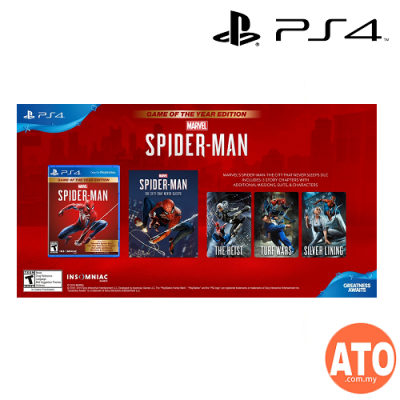 Marvel's Spider-Man Game Of The Year Edition for PS4 (ENG/CHI 中英文)