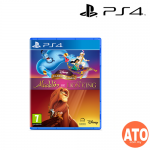 Disney Classic Games: Aladdin and The Lion King for PS4 (EU-ENG)