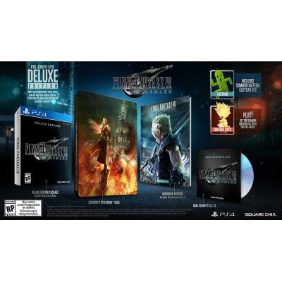 **PRE-ORDER** FINAL FANTASY VII REMAKE Deluxe Edition for PS4 (ENG) **ETA 03 Mar 2020