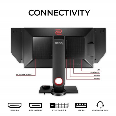 BenQ ZOWIE XL2536 24.5 inch 144Hz Gaming Monitor | 1080p 1ms | DVI | HDMI | USB