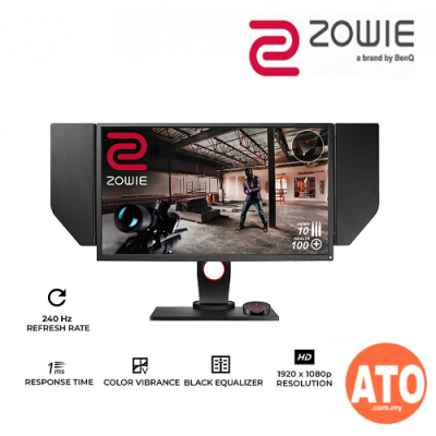 "BenQ ZOWIE XL2740 27"" 240Hz Gaming Monitor with G-Sync Compatible / Adaptive Sync 