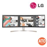 "LG UltraWide 49WL95C 49"" Curved UltraWideDual QHD (5120x1440) IPS Display, 3- side Virtually Borderless Design, HDT10, Ambient Light Sensor"