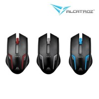 Alcatroz Asic 5 Mouse (Gun Metal| Black Blue| Black Red)