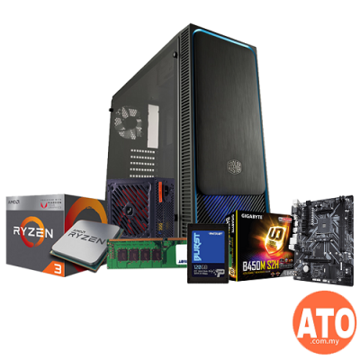 PC Build RM999 (AMD / Intel) with SSD