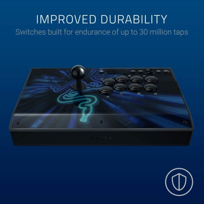 Razer Panthera Evo (Razer Mechanical Switches, Sanwa Joystick, vewlix Style, 3.55mm Analog, PS4/ PC Compatible)
