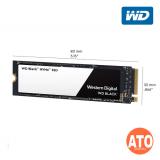 """WD M.2 2.5"""" Black PCIE GEN3 3D SSD 1TB"""