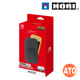 HORI Nintendo Switch Lite Hard Pouch [Black x Gray/Black x Blue/Black x Red]