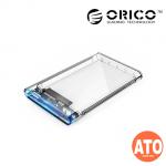 ORICO 2.5 inch Transparent USB3.0 Hard Drive Enclosure (2139U3)