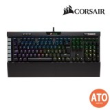 CORSAIR K95 RGB PLATINUM Mechanical Gaming Keyboard - CHERRY MX Speed - Black