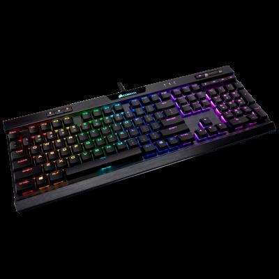CORSAIR K70 RGB MK.2 Low Profile RAPIDFIRE Mechanical Gaming Keyboard - CHERRY MX Low Profile Speed