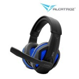 Alcatroz Zeta MG550i Gaming Headset (Black Blue  Black Red)