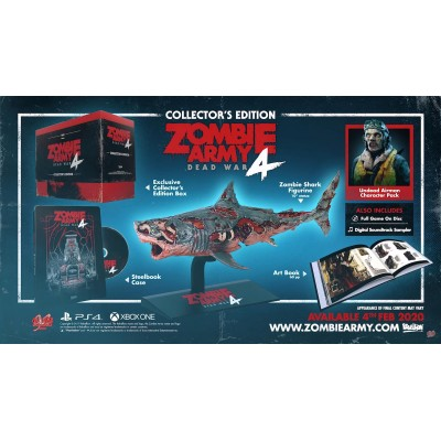 **PRE-ORDER** Zombie Army 4: Dead War Collector's Edition for PS4 (ASIA-ENG/CHI)**ETA Feb 4, 2020