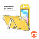 Nintendo Switch Lite Crystal Case and Kick Stand