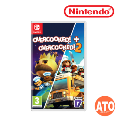 Overcooked! 1 + 2 for Nintendo Switch