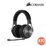 CORSAIR Virtuoso RGB Wireless 7.1 Virtual Surround High-Fidelity Headphone SE, Gun Metal
